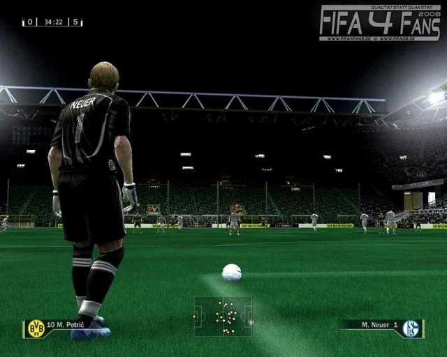 Скриншоты для игры FIFA 09 на Igroport.ru.