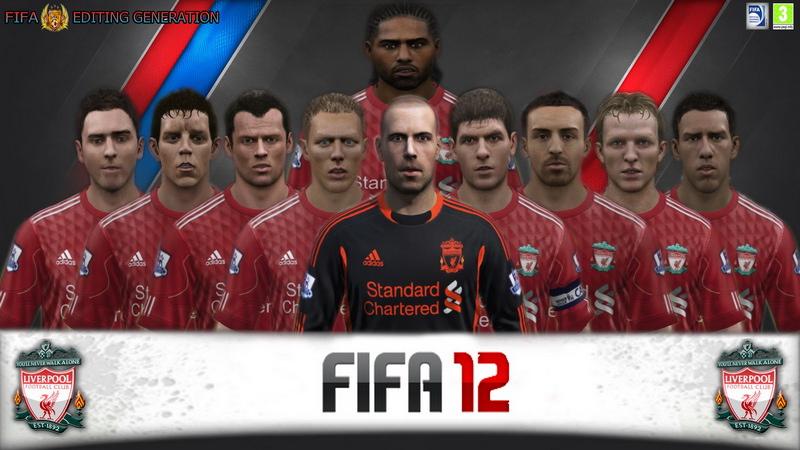 Патч для FIFA 12, который добавит в игру качественные лица для команды Ливе